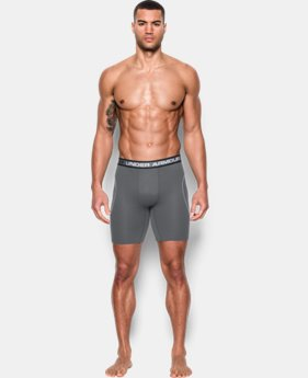 "Men's UA Iso-Chill Mesh 9"" Boxerjock® LIMITED TIME: FREE SHIPPING 1 Color $29.99"