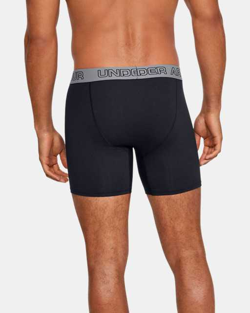 "Men's Charged Cotton® Stretch 6"" Boxerjock® - 3-Pack"