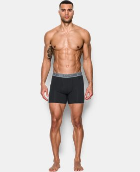 "Men's Charged Cotton® Stretch 6"" Boxerjock® 3-Pack  3 Colors $40"