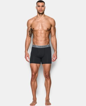 "Best Seller  Men's Charged Cotton® Stretch 6"" Boxerjock® 3-Pack LIMITED TIME: FREE SHIPPING 1 Color $33.99 to $44.99"