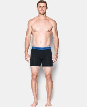 "Best Seller Men's Charged Cotton® Stretch 6"" Boxerjock® – 3-Pack  4 Colors $40"