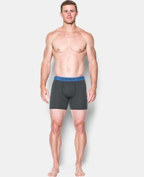 "Best Seller  Men's Charged Cotton® Stretch 6"" Boxerjock® – 3-Pack  3 Colors $44.99"