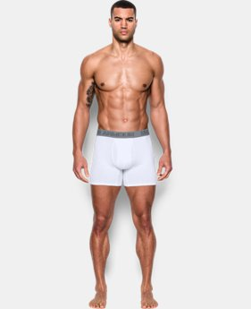 "Best Seller  Men's Charged Cotton® Stretch 6"" Boxerjock® 3-Pack   $33.99 to $44.99"