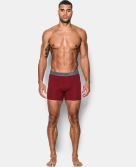 "Best Seller  Men's Charged Cotton® Stretch 6"" Boxerjock® – 3-Pack  5 Colors $44.99"