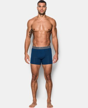 "Best Seller  Men's Charged Cotton® Stretch 6"" Boxerjock® 3-Pack  6 Colors $44.99"