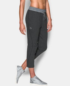 Women's UA Terry Crop  1 Color $56.99