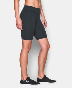 New Arrival Women's UA Mirror Long Short  1 Color $37.99