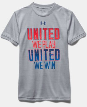 Boys' UA United We Play T-Shirt
