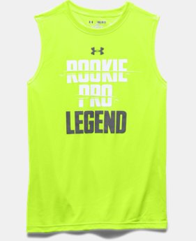 Boys' UA Rookie Pro Legend Sleeveless T-Shirt