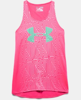 Girls' UA Run Big Logo Tank