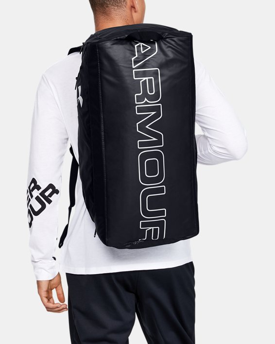 UA Storm Contain Backpack Duffle 3.0, Black, pdpMainDesktop image number 0