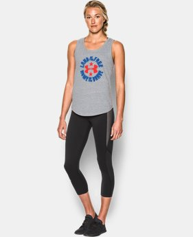 New Arrival Women's UA Land of the Free Tank  1 Color $29.99