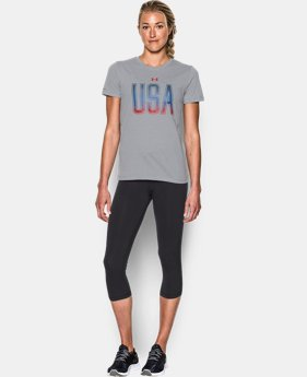 New Arrival Women's UA Memorial Day Tee  2 Colors $29.99