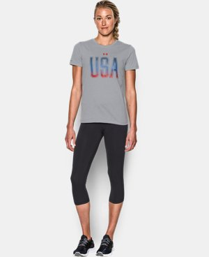 New Arrival Women's UA Memorial Day Tee  1 Color $29.99