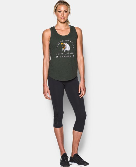 New Arrival Women's UA Memorial Day Tank LIMITED TIME: FREE U.S. SHIPPING 1 Color $29.99