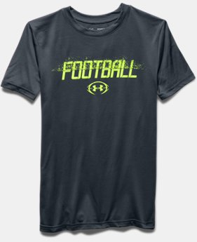 Boys' UA Football Branded T-Shirt