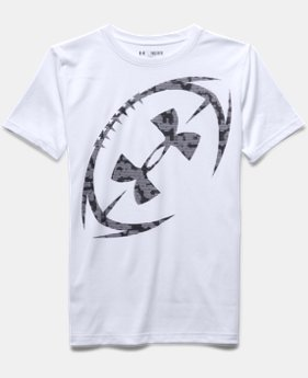 Boys' UA Logo Football T-Shirt