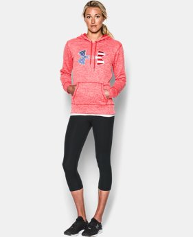 Women's UA Armour® Fleece Big Flag Logo Hoodie