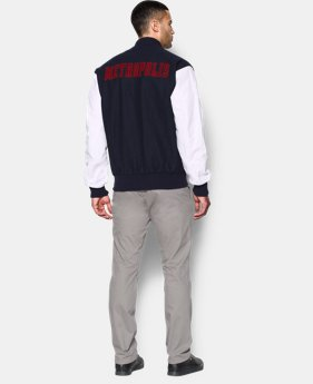Men's Under Armour® Alter Ego Metropolis Varsity Jacket  1 Color $258.99