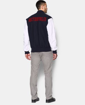 Men's Under Armour® Alter Ego Metropolis Varsity Jacket LIMITED TIME: FREE SHIPPING  $258.99