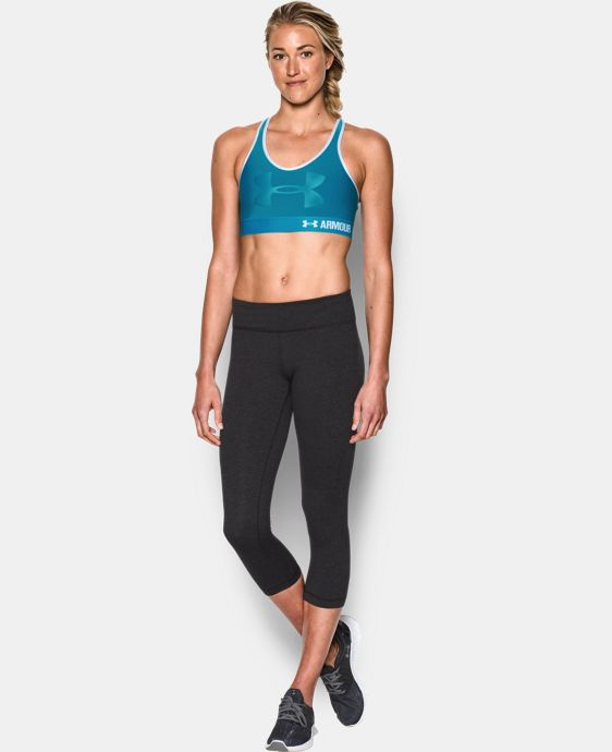 Women's Armour® Mid – Graphic SportsBra LIMITED TIME: FREE SHIPPING 2 Colors $20.24