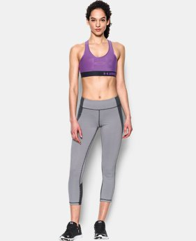 Women's UA Armour Mid Bra-Graphic   $27.99