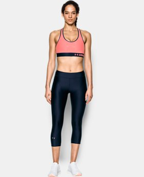 Women's Armour® Mid — Graphic Sports Bra  4 Colors $27.99