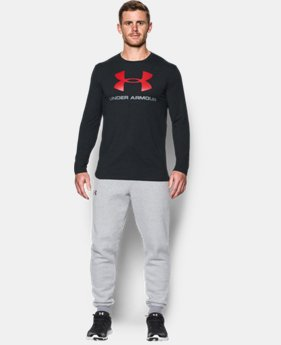 Best Seller  Men's UA Sportstyle Long Sleeve T-Shirt  8 Colors $34.99