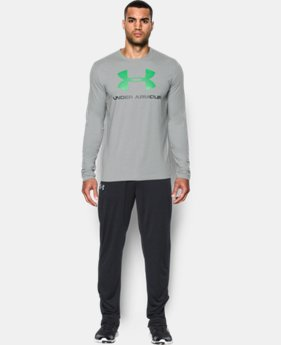 Men's UA Sportstyle Long Sleeve T-Shirt  1 Color $22.99