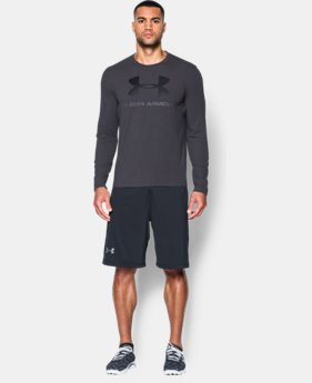 Men's UA Sportstyle Long Sleeve T-Shirt  3  Colors Available $17.99 to $22.99