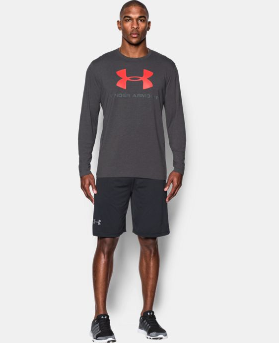 Men's UA Sportstyle Long Sleeve T-Shirt  1 Color $26.99