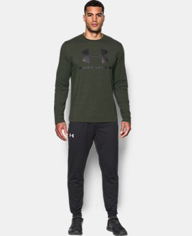Best Seller Men's UA Sportstyle Long Sleeve T-Shirt  2 Colors $29.99