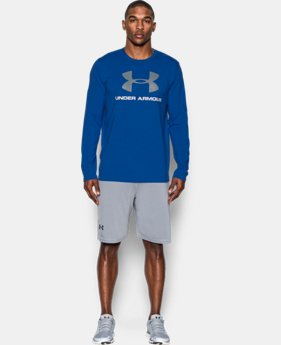 Best Seller  Men's UA Sportstyle Long Sleeve T-Shirt  1 Color $34.99