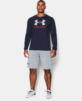 Best Seller Men's UA Sportstyle Long Sleeve T-Shirt  1  Color Available $29.99