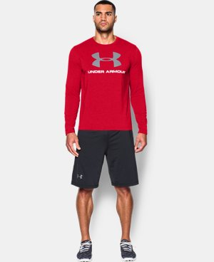 Men's UA Sportstyle Long Sleeve T-Shirt LIMITED TIME: FREE SHIPPING 1 Color $34.99