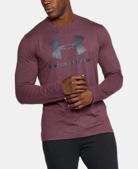 Best Seller  Men's UA Sportstyle Long Sleeve T-Shirt  10 Colors $34.99