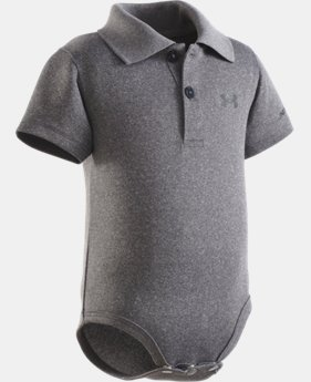 Boys' Newborn UA Polo Bodysuit   $14.99
