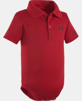Boys' Newborn UA Polo Bodysuit