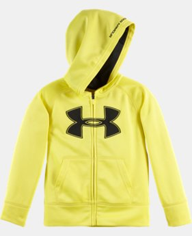 Boys' Toddler UA Mesh Applique Hoodie