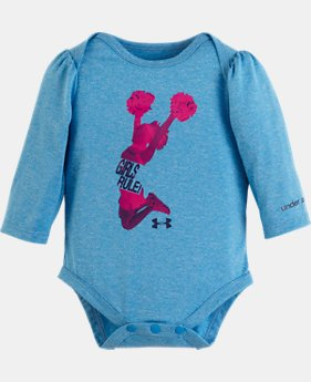Girls' Newborn UA Girls Rule Bodysuit