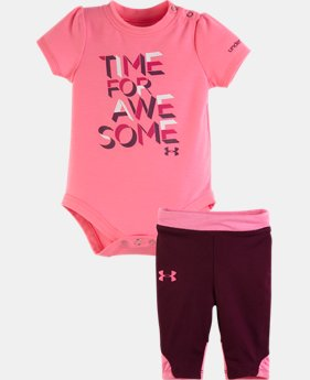 Girls' Newborn UA Time For Awesome Set
