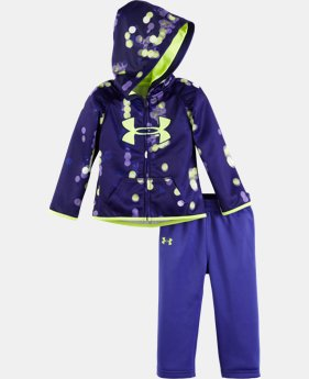 Girls' Newborn UA Armour® Fleece City Lights Hoodie Set