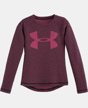 Girls' Infant UA Double Knit Waffle Long Sleeve