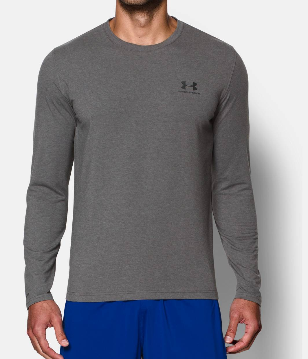 Men S Ua Charged Cotton Sportstyle Long Sleeve T Shirt