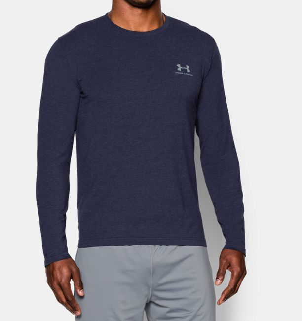 Men s UA Charged Cotton® Sportstyle Long Sleeve T-Shirt  eeeb0dab665f