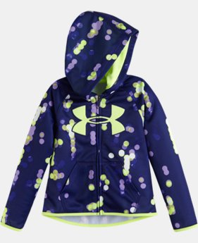 Girls' Infant UA Armour® Fleece City Lights Big Logo Hoodie