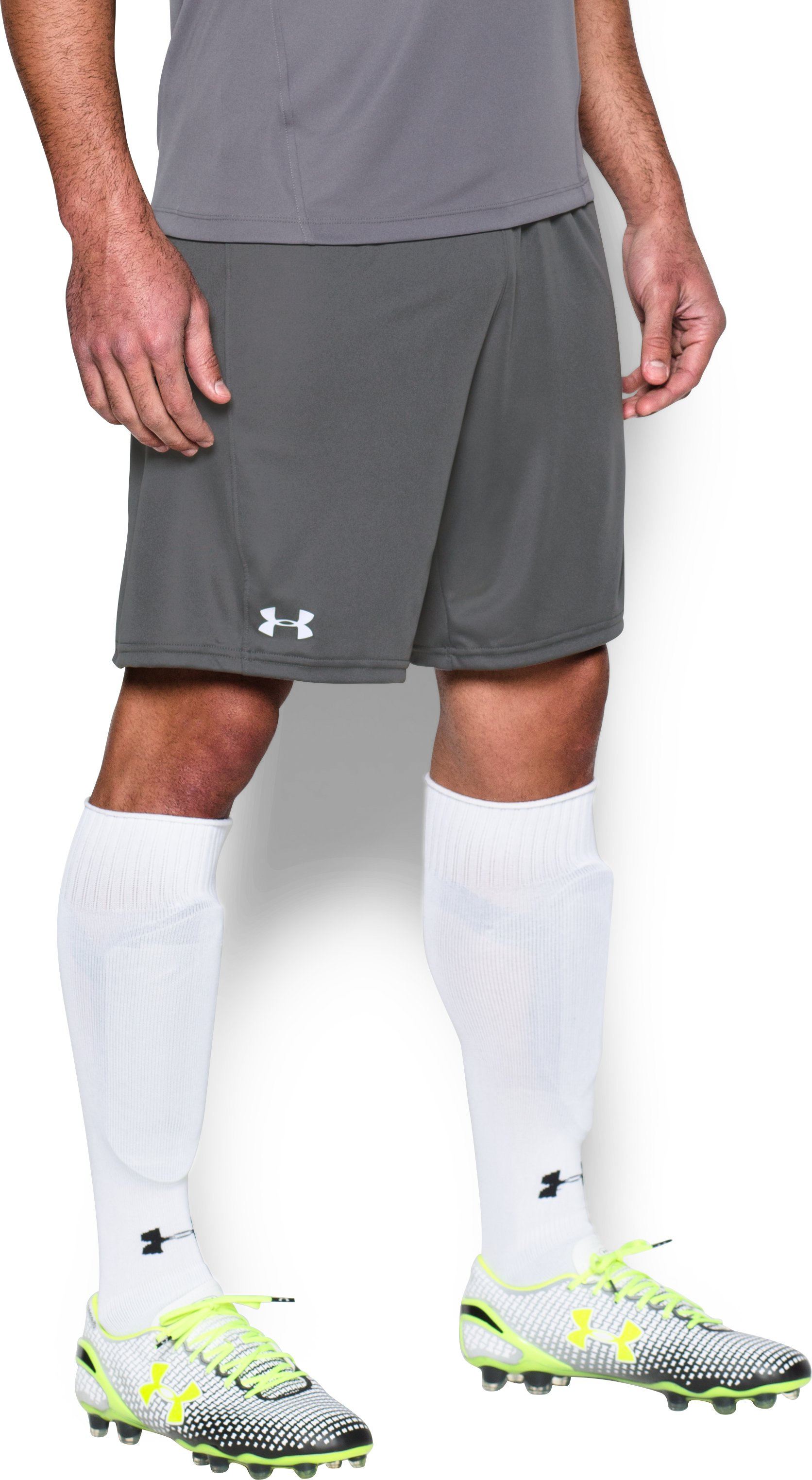Men's UA Challenger Knit Shorts, Graphite,