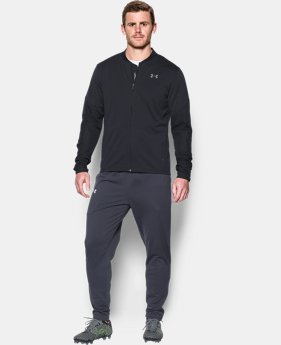 Men's UA Challenger Knit Warm-Up Jacket  1 Color $65