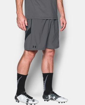 Men's UA Pitch Woven Shorts  1 Color $18.74
