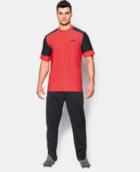 Best Seller Men's UA CoolSwitch Pitch Training Top  3 Colors $50